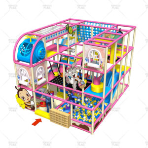 Colorful Candy Playground