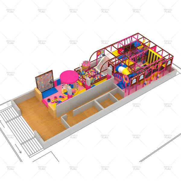 Customized Candy Theme Playground