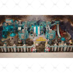 Kids Castle Theme Soft Playground