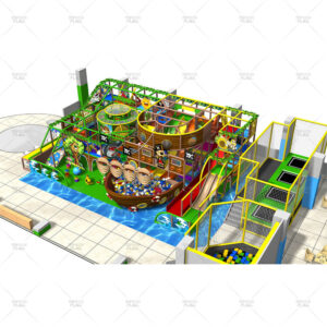 Magic Pirate Ship Theme Playground