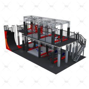 Ninja Warrior Course Set